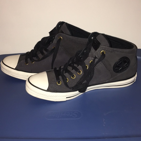 81991b4d6391 Converse Shoes | Ctas High Street Almost Black | Poshmark